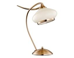Lampa stołowa IDALIA patyna/ecru śr. 30cm