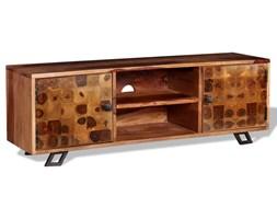 vidaXL Szafka pod telewizor, lite drewno sheesham, 120 x 30 x 40 cm