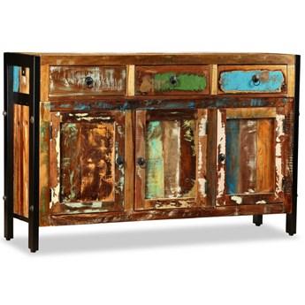 vidaXL Komoda z drewna odzyskanego, 120 x 35 x 76 cm
