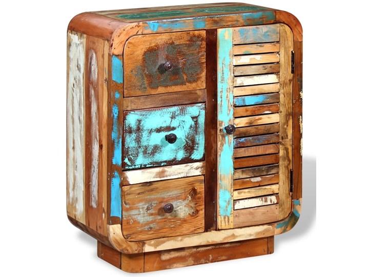 vidaXL Szafka z drewna odzyskanego Drewno Na dekoracje Pomieszczenie Sypialnia Pomieszczenie Salon