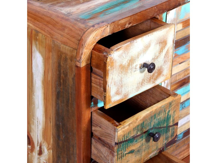 vidaXL Szafka z drewna odzyskanego Pomieszczenie Salon Na dekoracje Drewno Ilość szuflad 3-szuflady