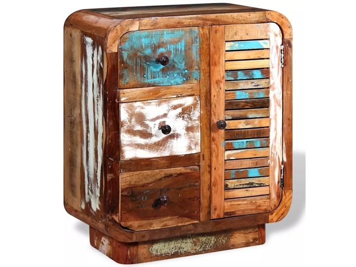 vidaXL Szafka z drewna odzyskanego Na dekoracje Drewno Kategoria Szafki i regały