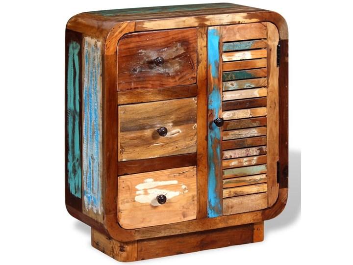 vidaXL Szafka z drewna odzyskanego Drewno Na dekoracje Pomieszczenie Sypialnia