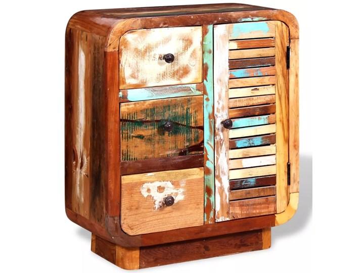 vidaXL Szafka z drewna odzyskanego Ilość szuflad 3-szuflady Na dekoracje Drewno Styl Vintage
