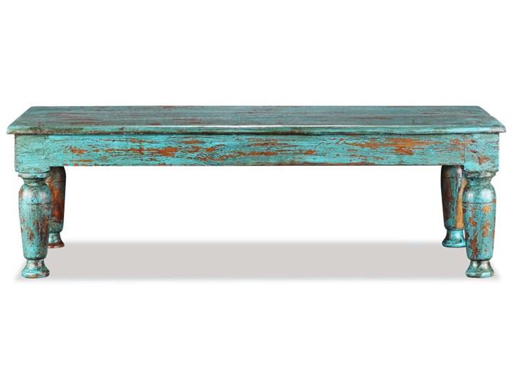 vidaXL Stolik kawowy, lite drewno z odzysku, 110x60x34 cm Rozmiar blatu 60x110 cm