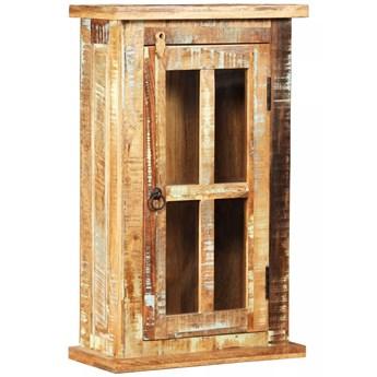 vidaXL Szafka wisząca z drewna z odzysku, 44 x 21 x 72 cm