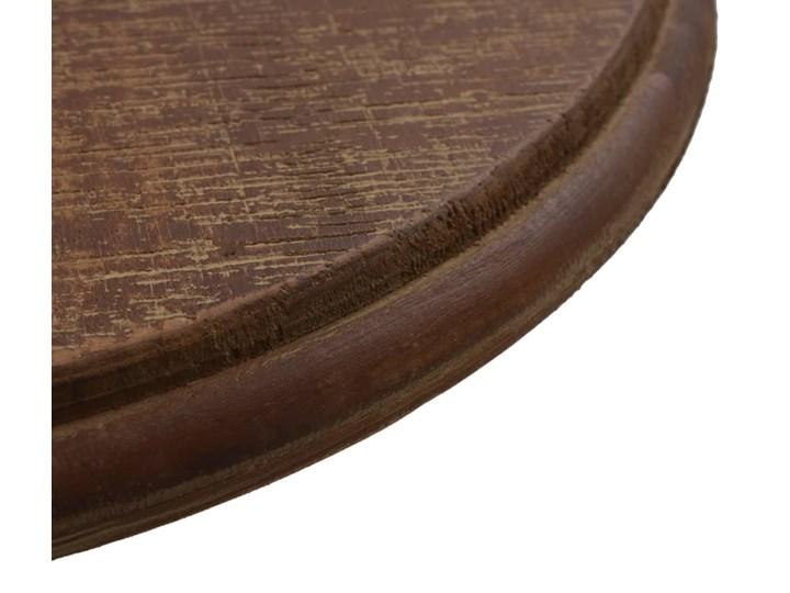 vidaXL Stolik z litego drewno jodłowego, 40 x 64 cm, brązowy Rodzaj nóg Gięte Stal Kategoria Stoliki i ławy