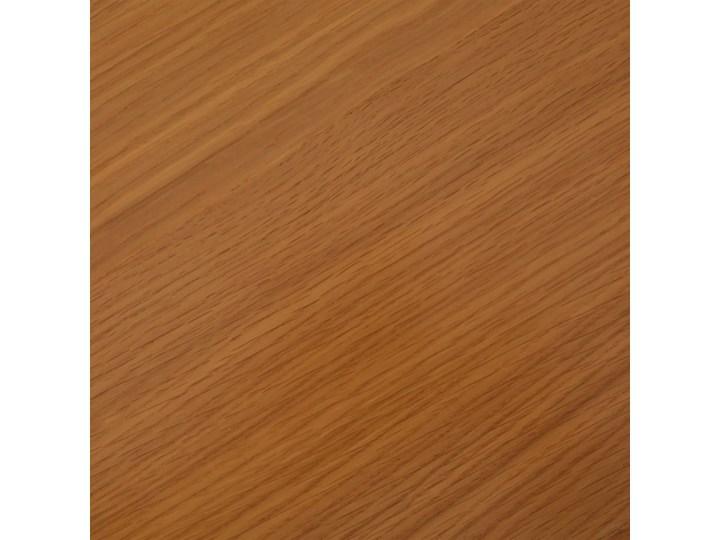 vidaXL Szafka, 110 x 33,5 x 70 cm, lite drewno dębowe Metal Pomieszczenie Salon