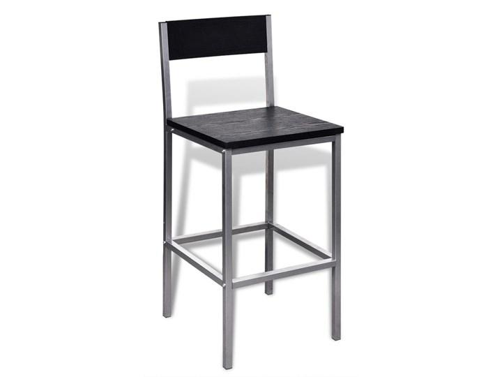 vidaXL Wysoki stolik kuchenny + krzesła Liczba krzeseł 2 krzesła