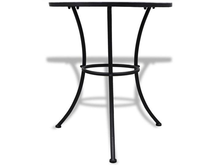 vidaXL 3-cz. zestaw mebli bistro z mozaiką niebiesko-białą Zawartość zestawu Stół Stoły z krzesłami Liczba miejsc Dwuosobowy