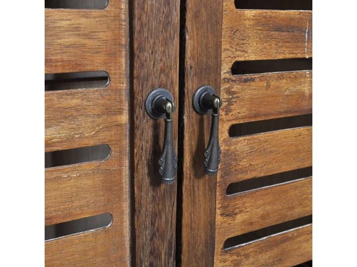 vidaXL Drewniana szafka łazienkowa Albuquerque, brąz, 46x24x117,5 cm Drewno Głębokość 24 cm Stojące Szerokość 46 cm Wysokość 118 cm Szafki Kategoria Szafki stojące