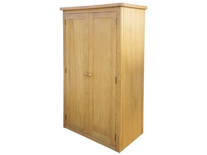 vidaXL Szafa z szufladą, 90x52x183 cm, lite drewno dębowe Głębokość 52 cm Szerokość 90 cm Pomieszczenie Sypialnia