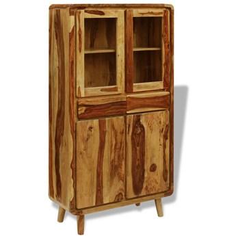 vidaXL Kredens z drewna sheesham, 90 x 40 x 175 cm