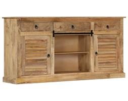 vidaXL Szafka boczna, 160 x 38 x 80 cm, lite drewno mango