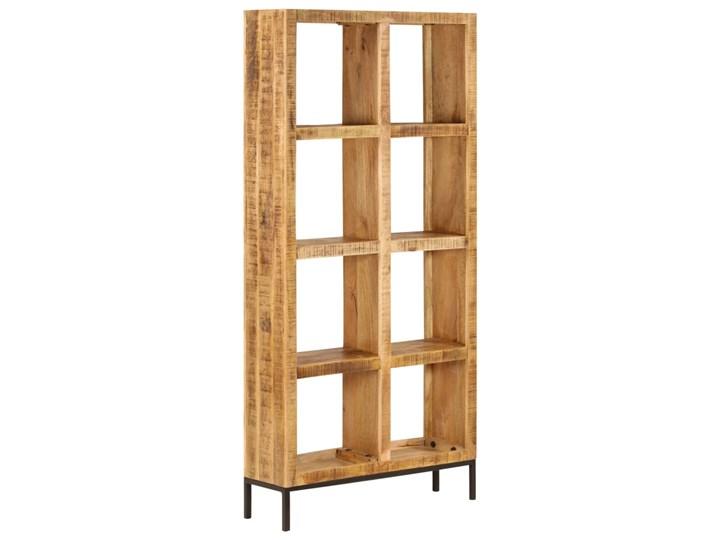 vidaXL Regał na książki, 80x25x175 cm, lite drewno mango Na zdjęcia Szerokość 80 cm Pomieszczenie Jadalnia