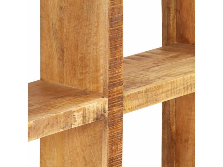 vidaXL Regał na książki, 80x25x175 cm, lite drewno mango Szerokość 80 cm Na zdjęcia Pomieszczenie Jadalnia