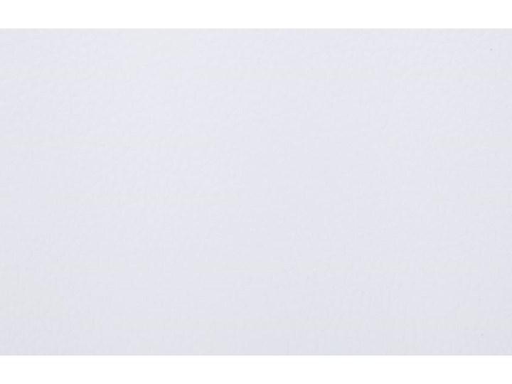 vidaXL Szezlong masujący z poduszką, biały, sztuczna skóra Materiał nóżek Stal Skórzany Materiał obicia Poliester