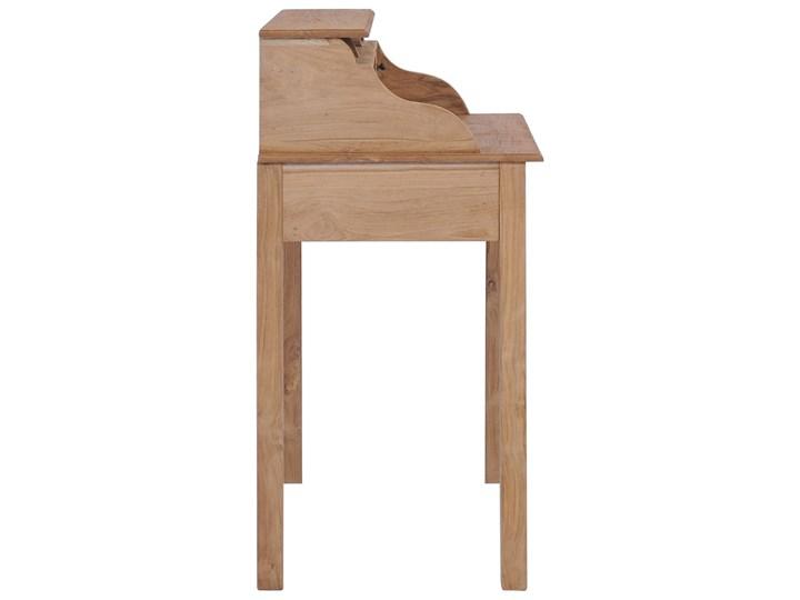 vidaXL Biurko, 90x50x100 cm, lite drewno tekowe Sekretarzyk Szerokość 90 cm Głębokość 50 cm Kategoria Biurka