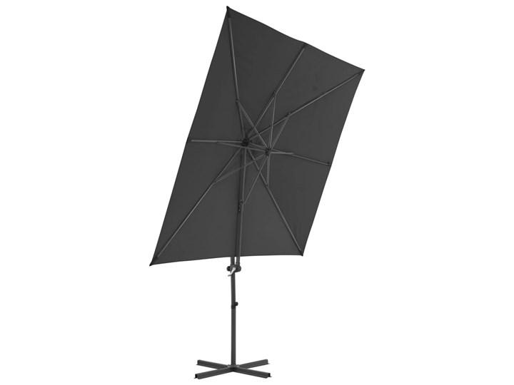 vidaXL Parasol ogrodowy z przenośną podstawą, antracytowy Kolor Czarny Parasole Kategoria Parasole ogrodowe