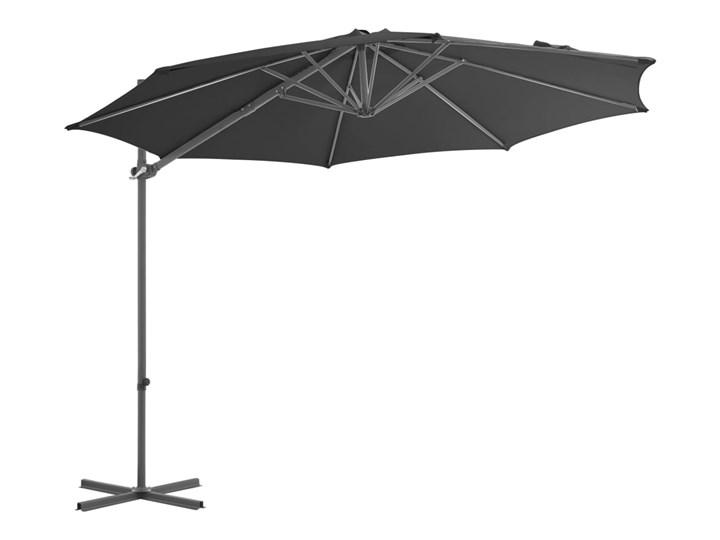 vidaXL Parasol ogrodowy z przenośną podstawą, antracytowy Kolor Szary Parasole Kategoria Parasole ogrodowe