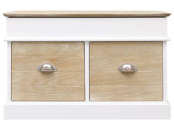 vidaXL Ławka do przedpokoju, 70 x 35 x 45 cm, drewno paulownia Skrzynia Pomieszczenie Salon