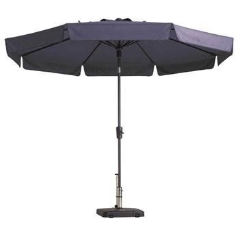 Madison Parasol Flores, 300 cm, okrągły, szafirowy
