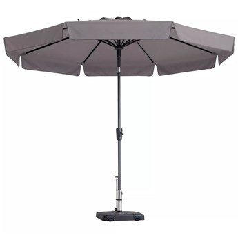 Madison Parasol ogrodowy Flores, 300 cm, okrągły, taupe, PAC2P015