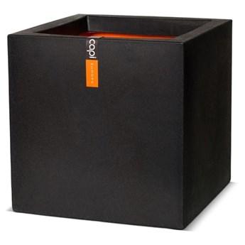 Capi Donica Urban Smooth, kwadratowa, 40 x 40 x 40 cm, czarna, KBL903