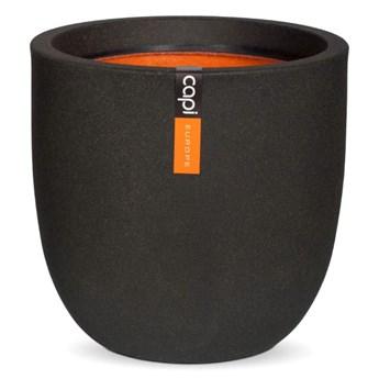 Capi donica owalna Urban Smooth 54x52 cm, czarna KBL935