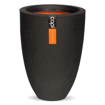 Capi Donica Urban Smooth, elegancka, niska, 36x47 cm, czarna, KBL782