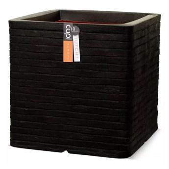 Capi Donica Nature Row, kwadratowa, 30x30 cm, czarna, KBLRO902