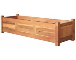 vidaXL Podwyższona donica ogrodowa, drewno akacjowe, 100x30x25 cm