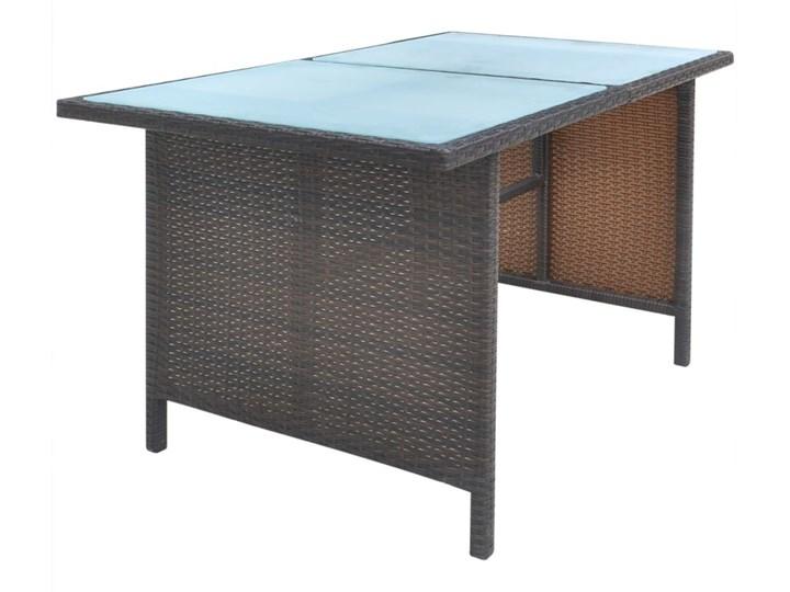vidaXL 6-cz. zestaw mebli ogrodowych z poduszkami, rattan PE, brązowy Zestawy wypoczynkowe Tworzywo sztuczne Technorattan Zawartość zestawu Sofa