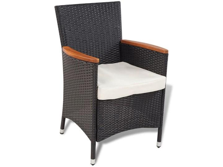 vidaXL 9-cz. zestaw mebli ogrodowych z poduszkami, rattan PE Stoły z krzesłami Technorattan Kategoria Zestawy mebli ogrodowych