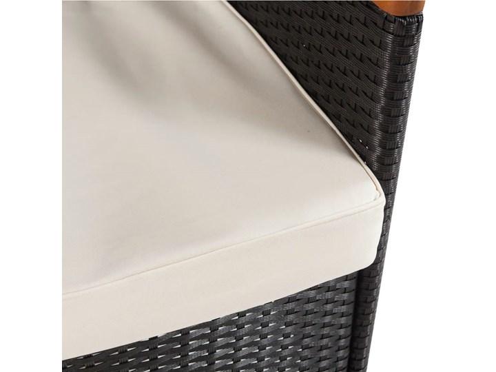 vidaXL 9-cz. zestaw mebli ogrodowych z poduszkami, rattan PE Technorattan Kategoria Zestawy mebli ogrodowych Stoły z krzesłami Zawartość zestawu Stół