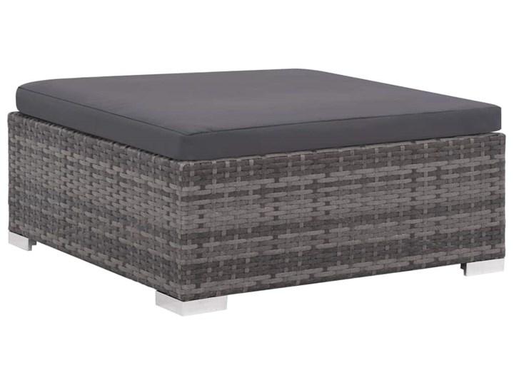 vidaXL 6-cz. zestaw wypoczynkowy do ogrodu, poduszki, rattan PE, szary Kategoria Zestawy mebli ogrodowych Zestawy wypoczynkowe Zestawy modułowe Technorattan Tworzywo sztuczne Stal Zawartość zestawu Sofa