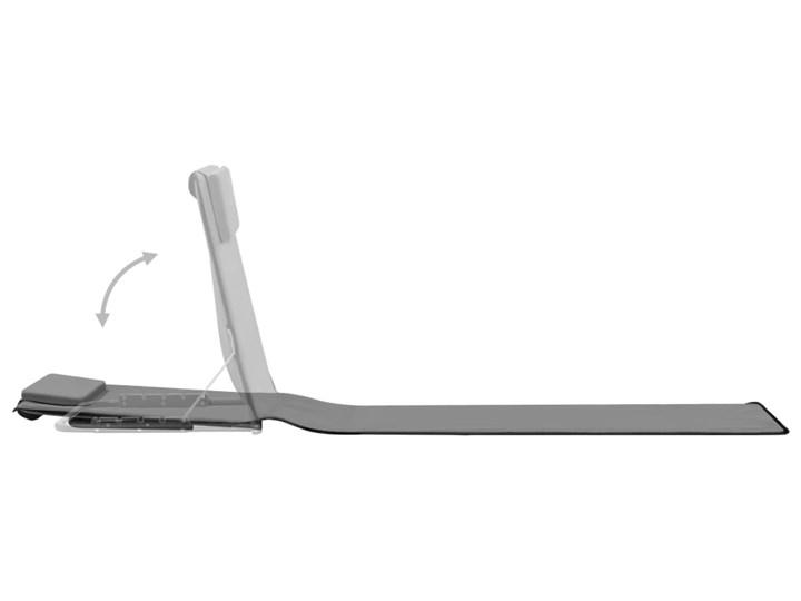 vidaXL Składane maty plażowe, 2 szt., stal i tkanina, szare Kolor Szary Metal Z regulowanym oparciem Kategoria Leżaki ogrodowe
