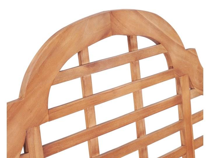 vidaXL Ławka ogrodowa, 136x63x102 cm, lite drewno tekowe Kategoria Ławki ogrodowe