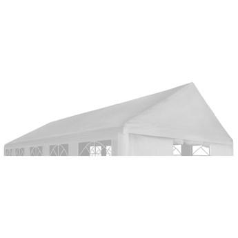 vidaXL Zadaszenie namiotu imprezowego, 4 x 6 m, białe