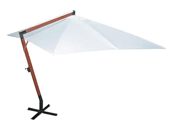 vidaXL Parasol 300 x 400 cm, biały Kategoria Parasole ogrodowe Parasole Położenie nogi Boczne