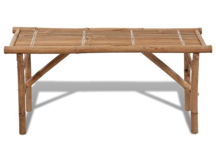vidaXL Składana ławka ogrodowa, 118 cm, bambusowa Kategoria Ławki ogrodowe