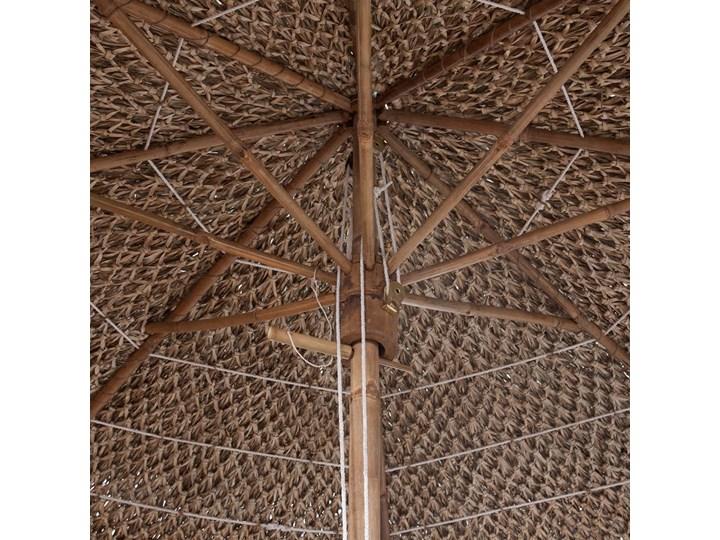 vidaXL Parasol ogrodowy z bambusa i bananowych liści, 270 cm Parasole Kategoria Parasole ogrodowe