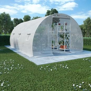 vidaXL Szklarnia ogrodowa, 13,5 m², 450 x 300 x 200 cm