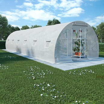 vidaXL Szklarnia ogrodowa, 27 m², 900 x 300 x 200 cm