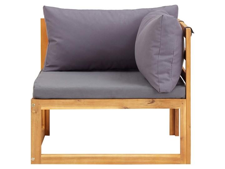 vidaXL 6-cz. zestaw mebli ogrodowych z poduszkami, drewno akacjowe Zestawy wypoczynkowe Zestawy kawowe Zestawy modułowe Zawartość zestawu Sofa