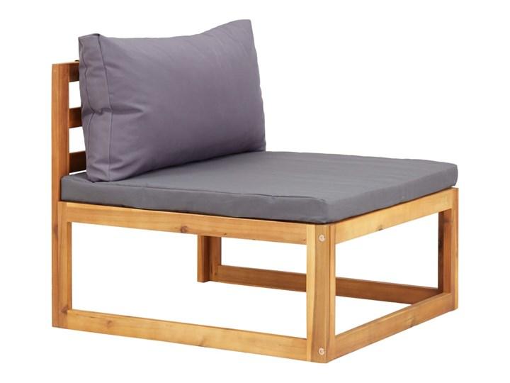 vidaXL 6-cz. zestaw mebli ogrodowych z poduszkami, drewno akacjowe Zestawy modułowe Zestawy wypoczynkowe Zestawy kawowe Zawartość zestawu Puf