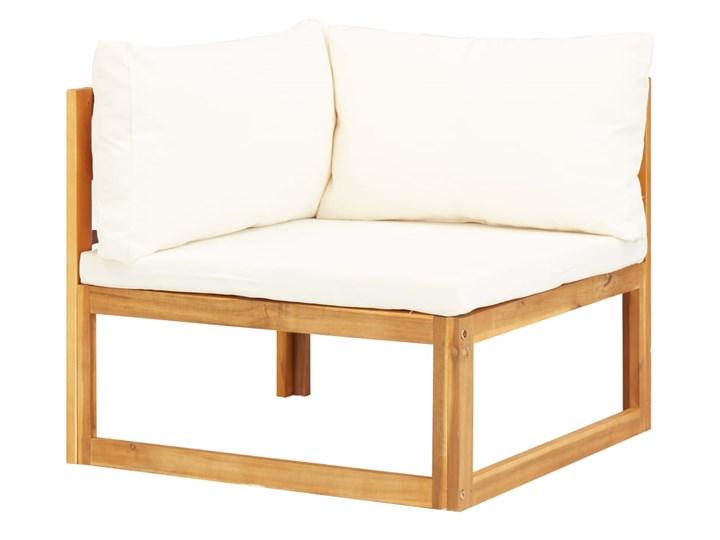 vidaXL 5-cz. zestaw mebli ogrodowych z poduszkami, drewno akacjowe Zestawy wypoczynkowe Zestawy modułowe Zestawy kawowe Zawartość zestawu Sofa Zawartość zestawu Puf