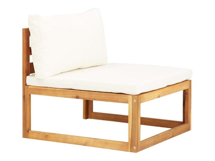 vidaXL 5-cz. zestaw mebli ogrodowych z poduszkami, drewno akacjowe Kolor Brązowy Zestawy kawowe Zestawy wypoczynkowe Zestawy modułowe Zawartość zestawu Narożnik