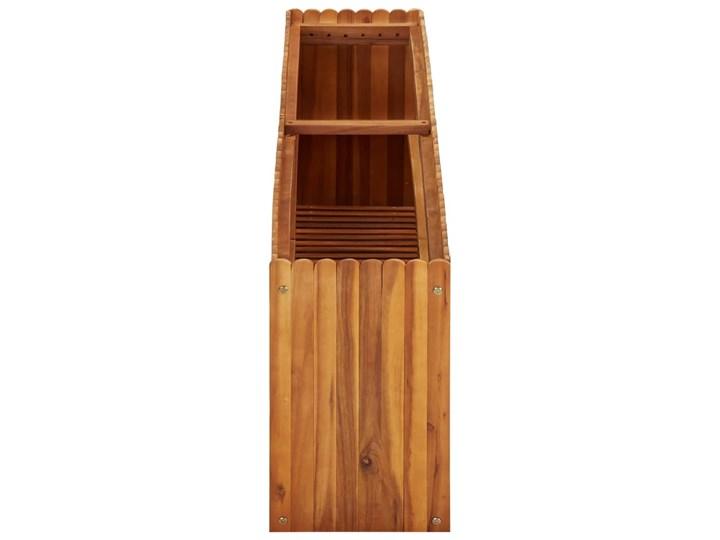 vidaXL Podwyższona donica ogrodowa, 150x30x50 cm, lite drewno akacjowe Prostokątny Kategoria Donice ogrodowe