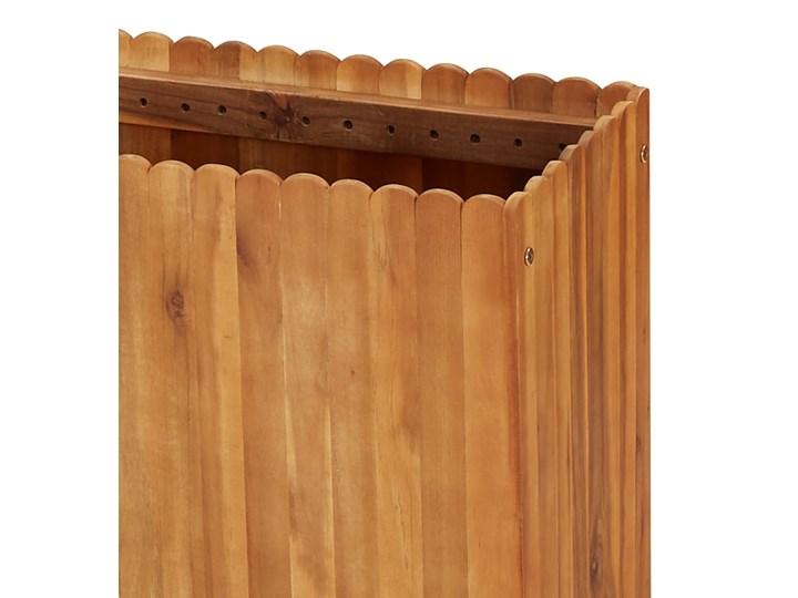 vidaXL Podwyższona donica ogrodowa, 150x30x50 cm, lite drewno akacjowe Kategoria Donice ogrodowe Prostokątny Kolor Brązowy